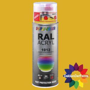 DupliColor RAL 1012 HG Citroengeel