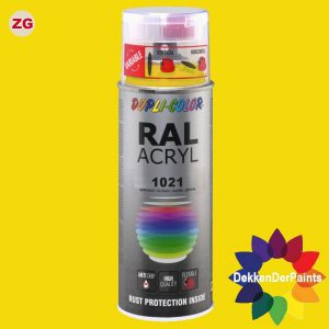 DupliColor RAL 1021 ZG Koolzaadgeel