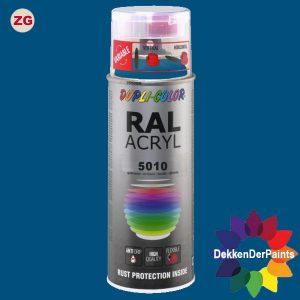 DupliColor RAL 5010 ZG Enzianblauw