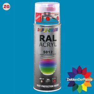 DupliColor RAL 5012 ZG Lichtblauw