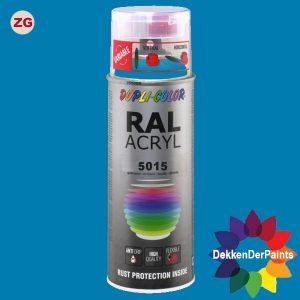 DupliColor RAL 5015 ZG Hemelsblauw