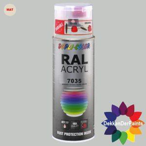 DupliColor RAL 7035 MAT Lichtgrijs