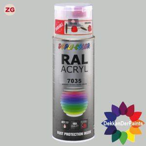 DupliColor RAL 7035 ZG Lichtgrijs