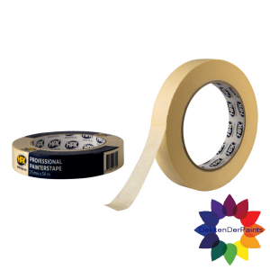 HPX HPX MASKING TAPE 25MM X 50M WIT 60°C