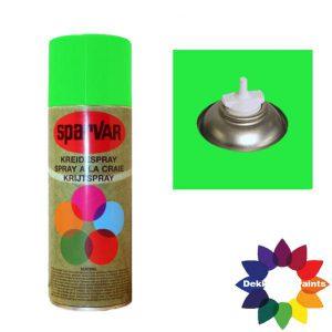 Krijt Spray Bodem Ventiel 400ml aFluor Groen 6000992
