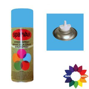 Krijt Spray Bodem Ventiel 400ml aFluor Blauw 6001036