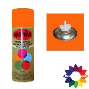 Krijt Spray Bodem Ventiel 400ml aFluor Oranje 6001005