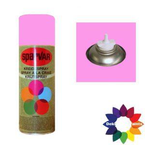 Krijt Spray Bodem Ventiel 400ml aFluor Roze 6000985