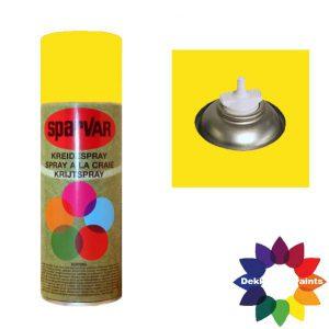 Krijt Spray Bodem Ventiel 400ml Geel 6001104