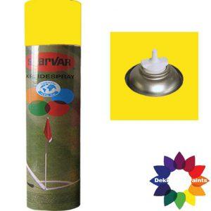 Krijt Spray Bodem Ventiel 750ml Geel 6031323
