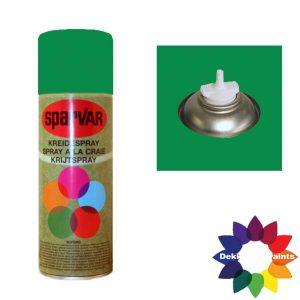 Krijt Spray Bodem Ventiel 400ml Groen 6001050