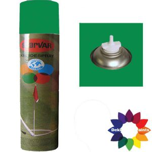 Krijt Spray Bodem Ventiel 750ml Groen 6031316
