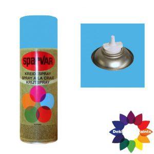 Krijt Spray Bodem Ventiel 400ml Licht Blauw 6001074