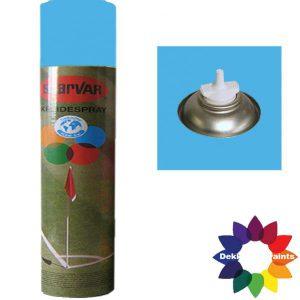 Krijt Spray Bodem Ventiel 750ml Licht Blauw 6031392