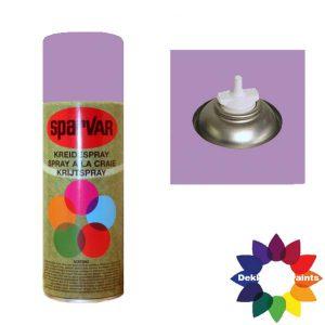 Krijt Spray Bodem Ventiel 400ml Lila 6001098