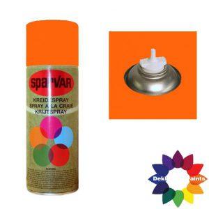 Krijt Spray Bodem Ventiel 400ml Oranje 6001067