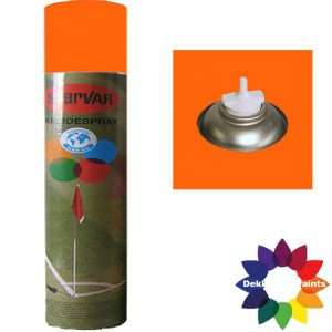 Krijt Spray Bodem Ventiel 750ml Oranje 6031361