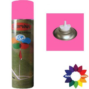 Krijt Spray Bodem Ventiel 750ml Roze 6031385