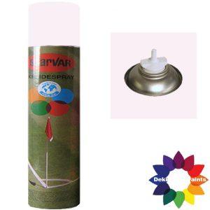 Krijt Spray Bodem Ventiel 750ml Wit 6031354
