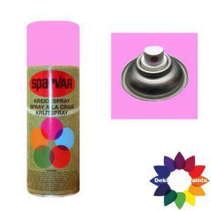 Krijt Spray Standaard Ventiel Fluor Roze 400ml 6000602