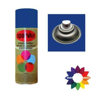 Krijt Spray Standaard Ventiel Blauw 400ml 6000732