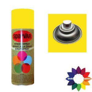 Krijt Spray Standaard Ventiel Geel 400ml 6000725