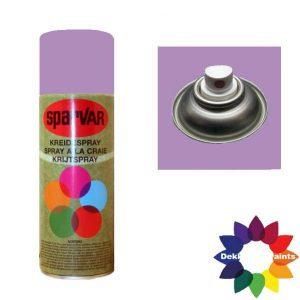 Krijt Spray Standaard Ventiel Lila 400ml 6000718