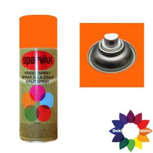 Krijt Spray Standaard Ventiel Oranje 400ml 6000688