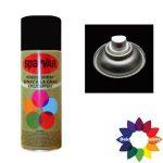 Krijt Spray Standaard Ventiel Zwart 400ml 6000664