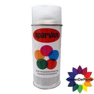 SPARVAR Blanke Lak W-Hoogglans Waterbasis 400 ml