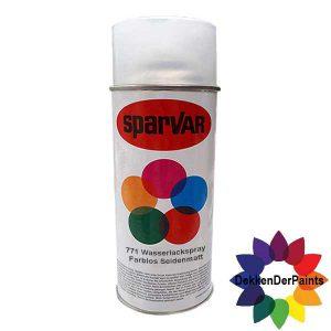 SPARVAR Blanke Lak W-Zijdeglans Waterbasis 400 ml-EAN4009506094328