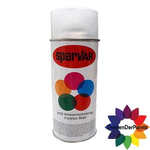 SPARVAR Blanke Lak W-Mat Waterbasis 400 ml-EAN4009506094335