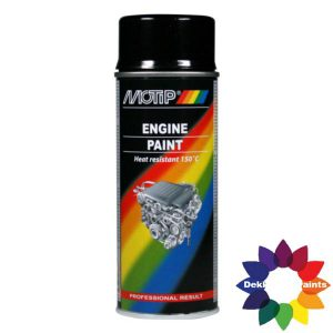 MOTIP 4091 ENGINE PAINT ZWART 04092