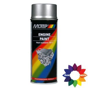 MOTIP 4093 ENGINE PAINT ALUMINIUM 04093