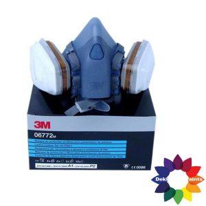 3M Halfgelaatmasker compleet 7000 serie 06772