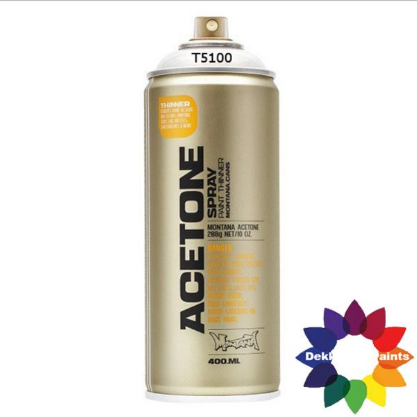 Montana Acetone/Cap Cleaner T5100 400 ml 376382