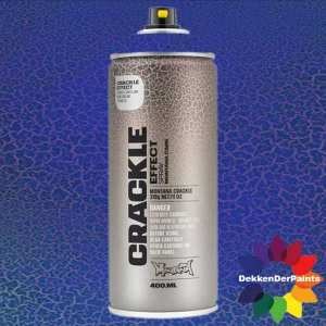 Montana Crackle Effect Spray EC 5010 Gentian Blue RAL 5010 400 ml 418440