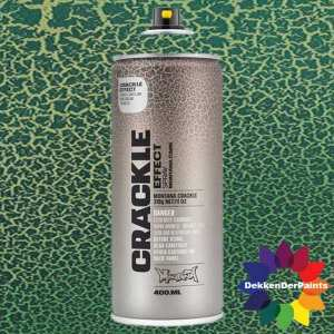Montana Crackle Effect Spray EC 6000 Platina Green RAL 6000 400 ml 418457