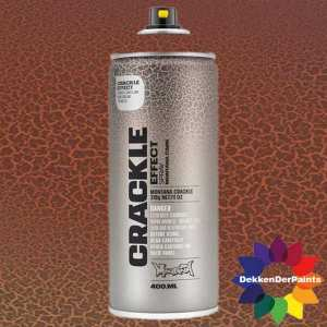 Montana Crackle Effect Spray EC 8004 Copper Brown RAL 8004 400 ml 418471