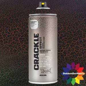 Montana Crackle Effect Spray EC 9017 Traffic Black RAL 9017 400 ml 418495
