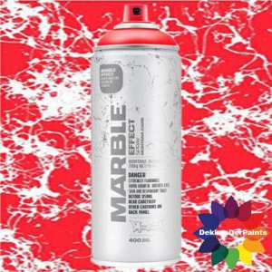 Montana Marble Effect Spray EM 3000 Red 400 ml 493935
