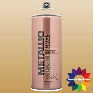 Montana Metallic Effect Spray EMC 1030 Metallic Aztec Gold 400 ml 494123