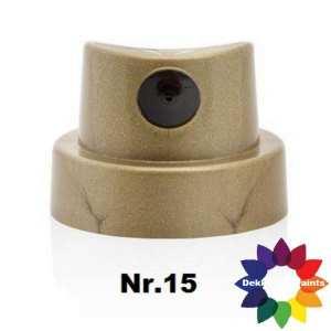 nr.15 379260 Fat Cap Gold/Black (12 st.)