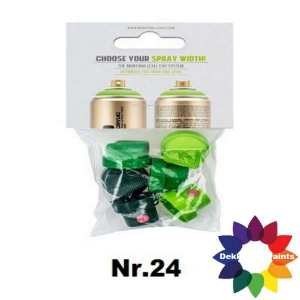 nr.24 292910 Spray cap set Level 1-6 (1 set)