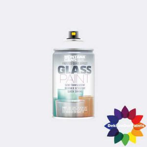 Montana Glass Paint 9100 White 250ml 483127