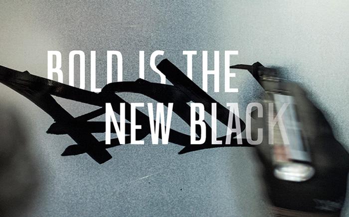 MONTANA BOLD BLACK INK MARKER