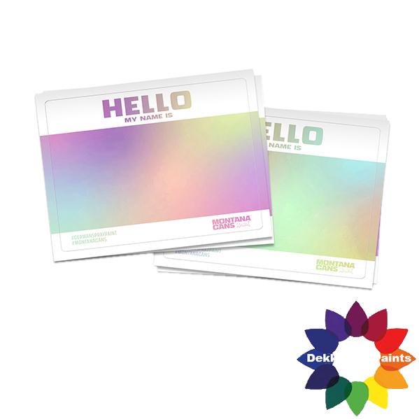 525773 Hello Gram Sticker